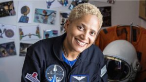 Who is Dr. Sian Proctor from Countdown Inspiration4 Mission to Space on Netflix?