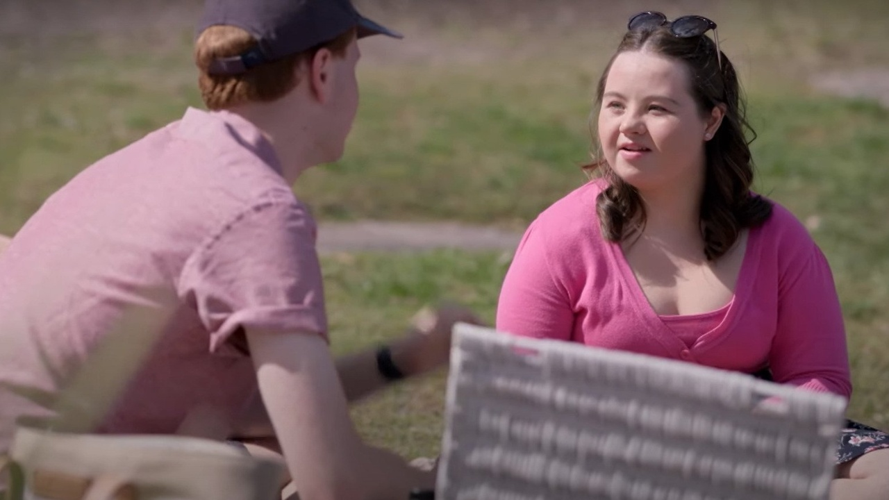 Katie from Love on the spectrum Has Down Syndrome