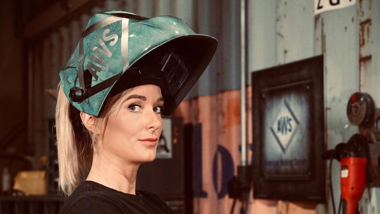 Stephanie Hoffman from Metal Shop Masters on Netflix is a Welding Goddess!
